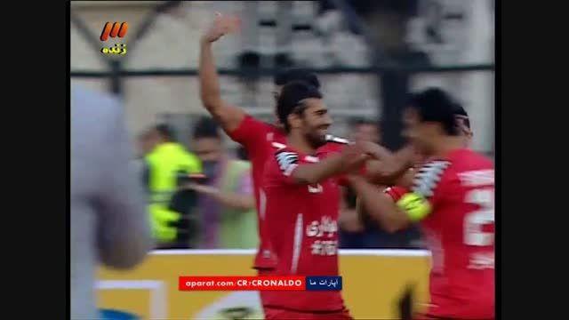 پرسپولیس 1 - 0 پدیده مشهد (گل علیپور)