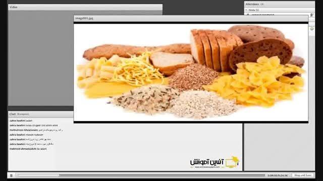 وبینار طراحی رژیم غذایی برای کاهش وزن - جلسه اول