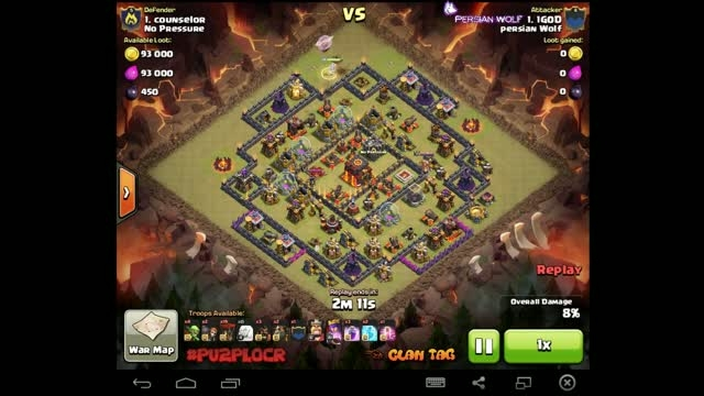 1G0D Queen Walker lavoon Town hall 10 3 star