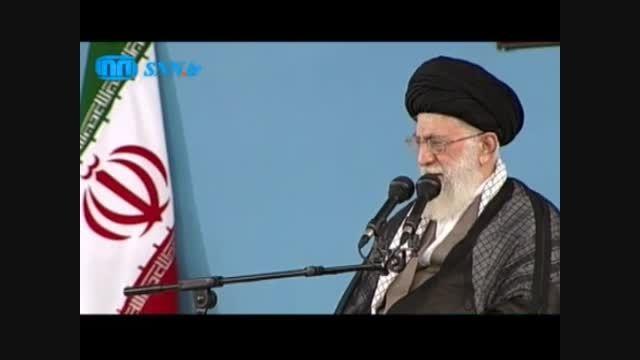 بیانات مهم رهبر انقلاب در مورد مذاکره با آمریکا 15مهر94