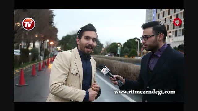پشت صحنه مهمانی کاندیدهای سیمرغ جشنواره در هتل استقلال