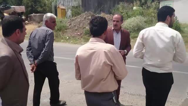 بازدید معاون بنیاد مسکن استان از باقرتنکه