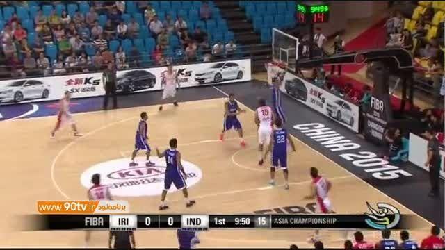 حواشی بازی بسکتبال ایران ۸۸-۶۶ هند