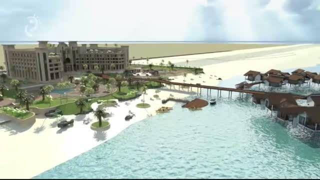 انیمیشن هتل دریایی کیش