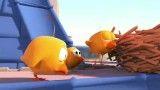 کارتون زیبای 3 جوجه کبوتر به همراه موسیقی بسیار زیبا