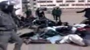 کتک زدن دانشجویان در افریقا توسط پلیس امنیت