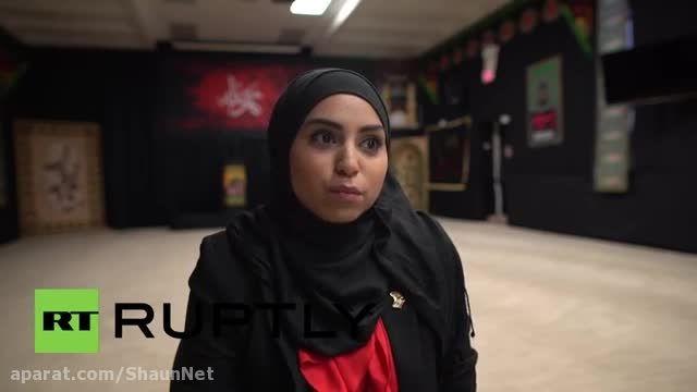 زنان مسلمان کانادا تورنتو آموزش دفاع شخصی می بینند.