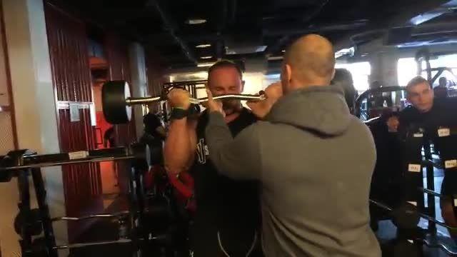 Big biceps Kevin Levrone 's style -Radek Slodkiewicz