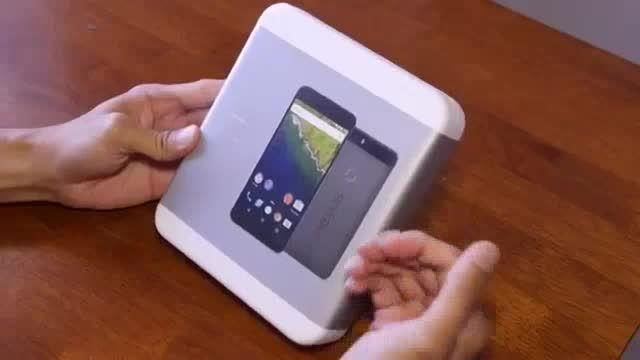 جعبه گشایی گوشی هوشمند نکسوس 6P