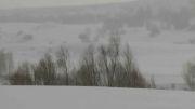 بارش برف و جلوه های زیبای طبیعت زمستان در آستانه بهار93