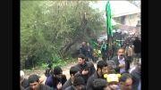 دسته روی روز عاشورا در روستای کرسام