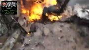عملیات انتحاری در سوریه و کباب شدن انتحاری رونده داعشی