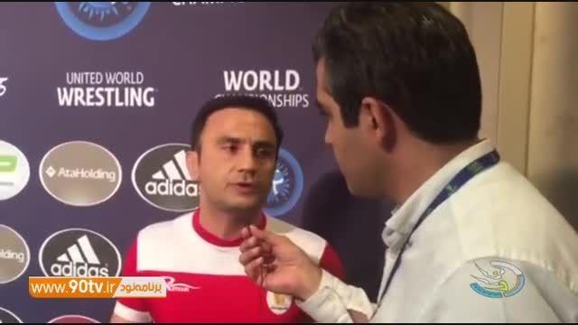 حواشی روز اول مسابقات جام جهانی کشتی آزاد