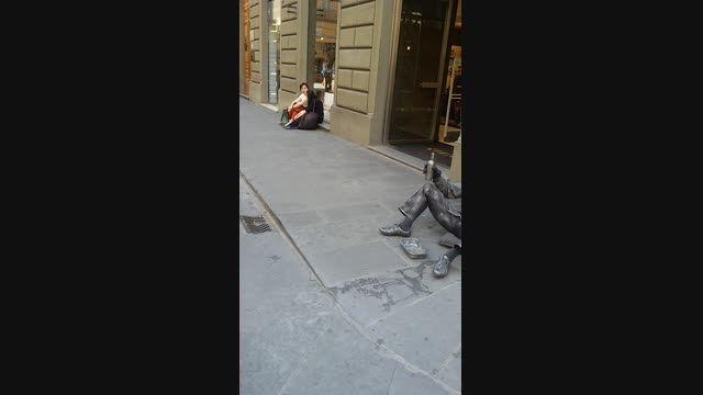 هستی خانم در فلورانس ایتالیا