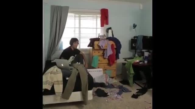 روش جدید مرتب کردن اتاق