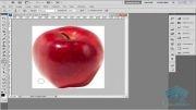آموزش ساخت سیب مکعبی توسط فتوشاپ
