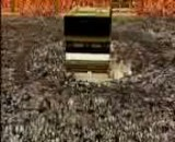 مکه و کعبه- نمای فضایی و زیبا از کره ی زمین و بعد زوم کردن روی کعبه