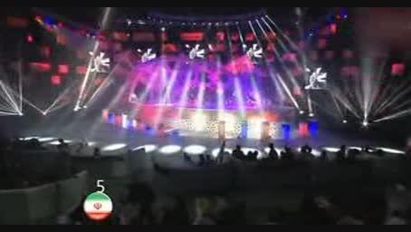 ترک ویژن 2015 ♫♫♫ -آهنگ حیدربابا گروه باریش تبریز