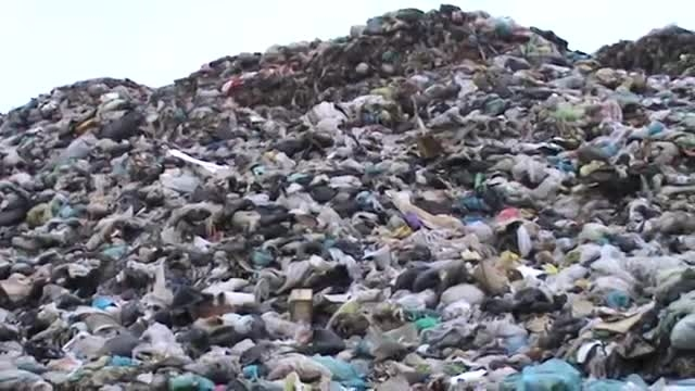 فاجعه جایگاه زباله لاهیجان