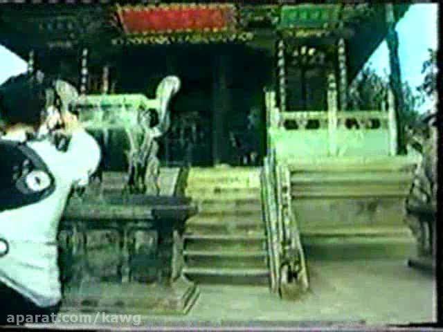 ووشو؛ اجرای فرم سنتی تقلیدی از اژدها، دهه 80 میلادی