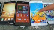 iPhone 6 vs Note 4 vs GS5 vs Nexus 5 vs Z2_Outdoor