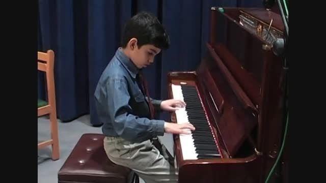 پیانو کودک-تارنتلا برگمولر-سپهرقاضی مرادی-پیمان جوکار