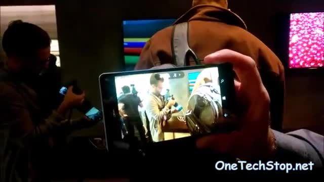 ویدئوی قابلیت های دوربین لومیا 950 و 950 ایکس ال