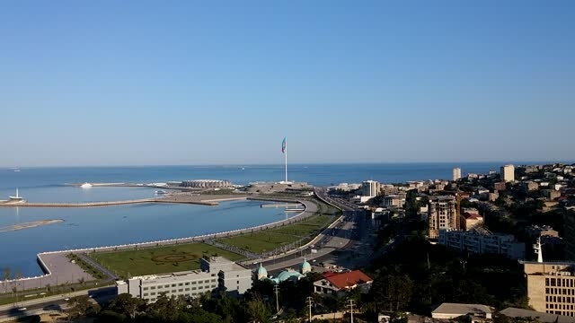 چشم اندازی از شهر باکو
