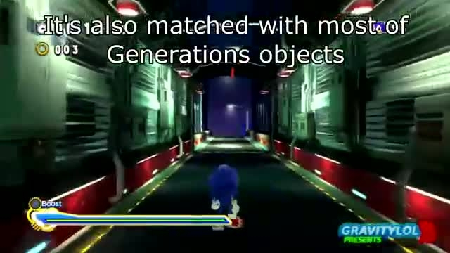 Sonic Generations - Let's Look at Lost World Sonic Mod