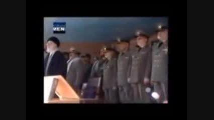 اقا رهبر انقلاب اسلامی ایران امام خامنه ای پاسخ ایران ب