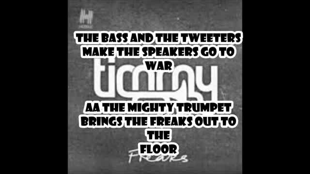 Freaks - Timmy Trumpet ft. Savage (Lyrics)