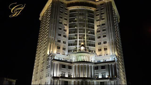 تیزر هدیه کیک تولد میهمانان هتل بین المللی قصر طلایی