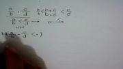 اثبات یک قاعده ریاضی (یافتن عدد گویا بین دو عدد گویا)