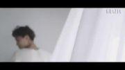 Kai و سهون exo (پشت صحنه عکس برداریGrazia)