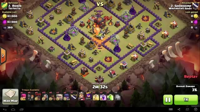 Clash of Clans - TH10 - GoWiWi - War 84 vs Trifecta - G