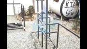 ساخت شاسی اپوکسی دستگاه تصفیه آب تمدن آریا
