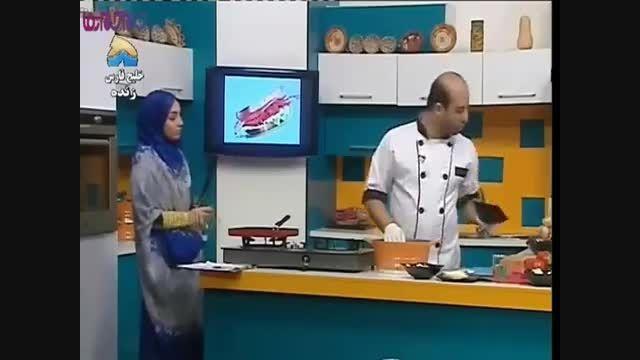 آشپزی آسان - طرز تهیه همبرگر پنیری ...