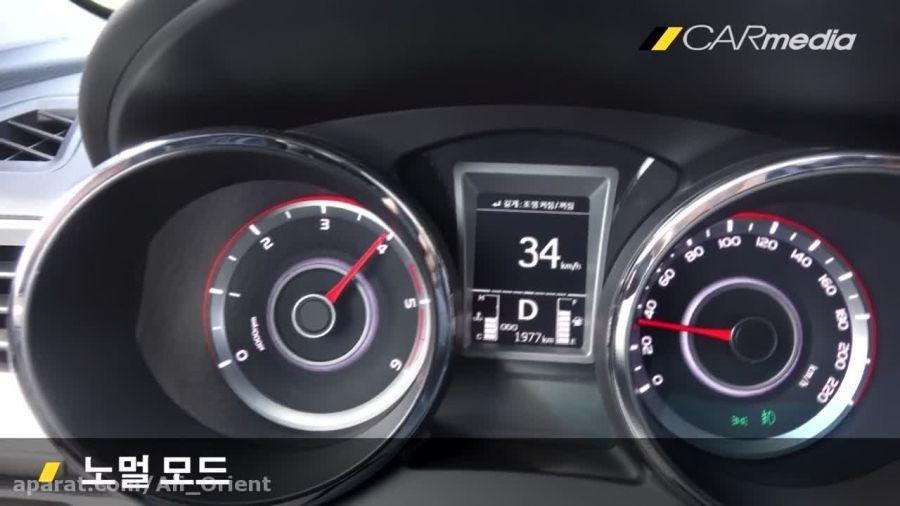 تست شتاب خودروی تیوولی TIVOLI HD