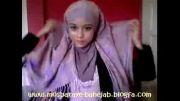 آموزش بستن شال برای حجاب(3)