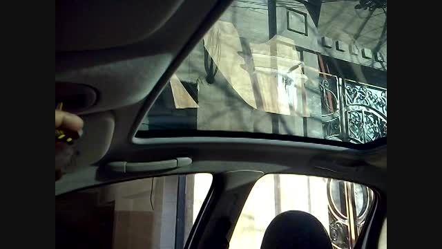 نصب سقف پانوراما فابریک پژو 206