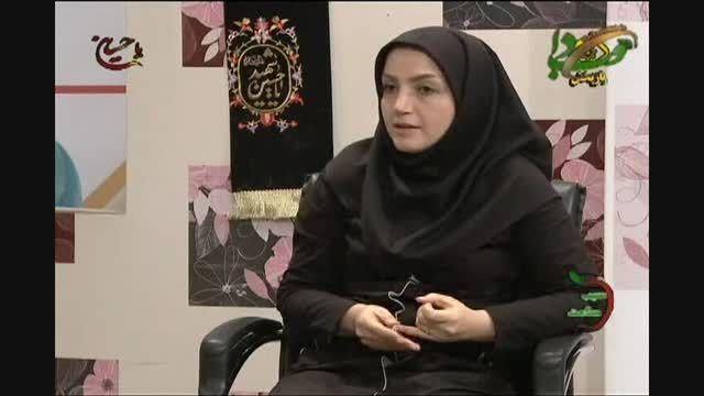 نشانگرهای تغذیه - خانم آیدا غفاری در سیب سلامت 27مهر 94