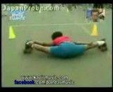 پسر بچه ورزشکار
