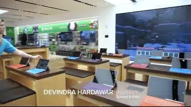 فروشگاه مایکروسافت در خیابان پنجم نیویورک