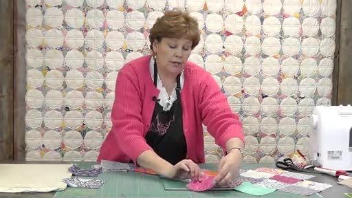 آموزش 2- چهل تکه دوزی مربع های زیگزاگ از خانم جینی دوان