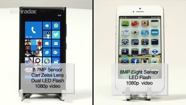 Nokia Lumia 920 vs iPhone 5 Camera Test