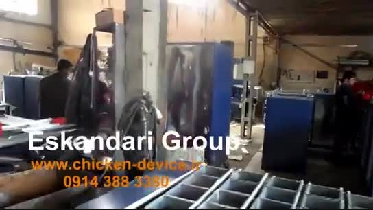 کارخانه تولید دستگاه های جوجه کشی صنعتی و خانگی