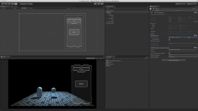 آموزش UI Tool در یونیتی 4و 5-بخش 1-UI Canvas