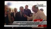 مصاحبه جنجالی با وزیر کشور مصر با لباس خواب!!!