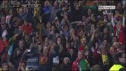 گل کریستیانو رونالدو به سوئد در پلی اف جام جهانی (دور رفت)