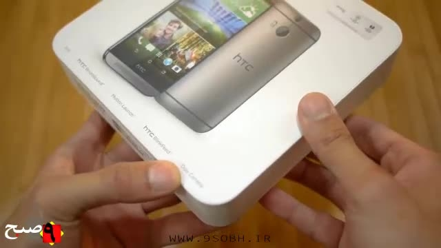 جعبه گشایی HTC One M8